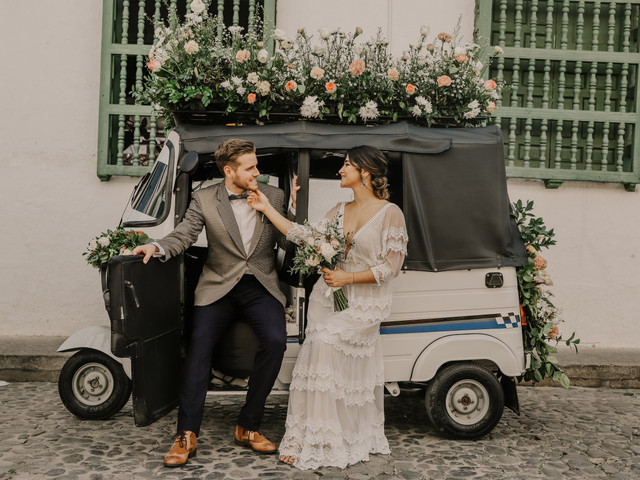 8 alternativas al carro de matrimonio