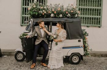 8 alternativas al carro de matrimonio