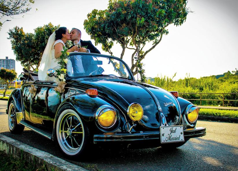 Lorenzo & Jerónimo VW Wedding Car