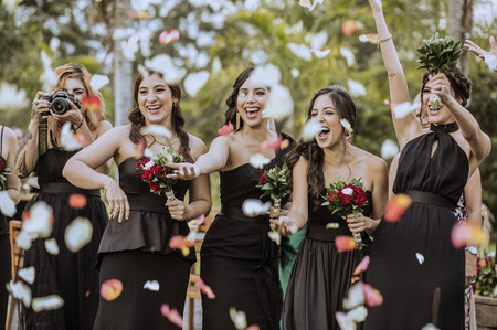 12 tips (que no fallan) para elegir a las damas de honor