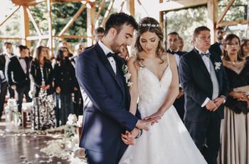 El permiso para casarse en otra iglesia