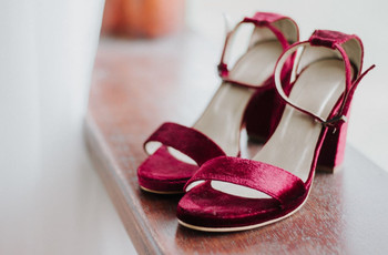 35 zapatos de fiesta de tacón ancho