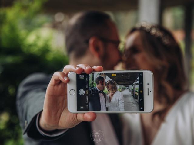 ¡Háganse selfis el día de su matrimonio!