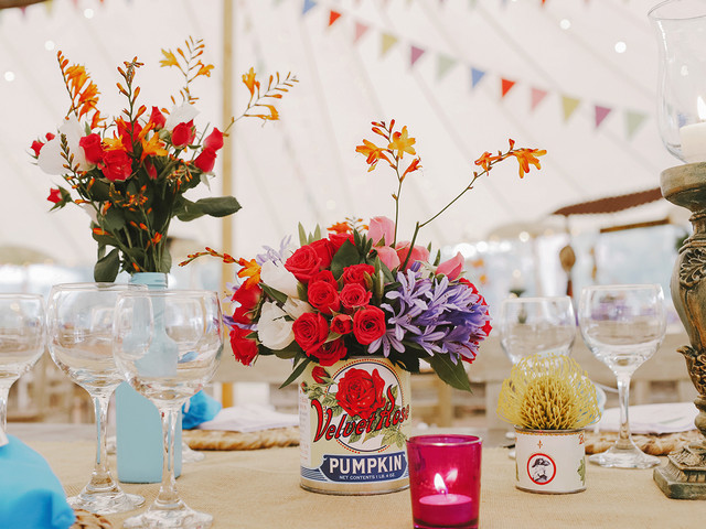 75 centros de mesa para boda: decoraciones para cada tipo de celebración