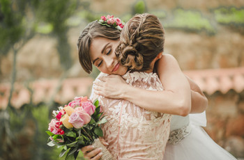 Las fotografías de madre e hija que no pueden faltar el día del matrimonio
