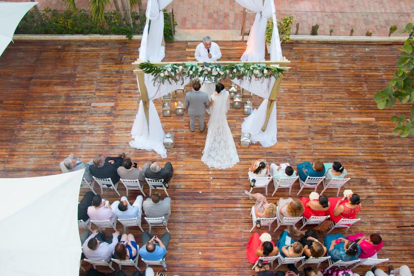 contratar dron para boda