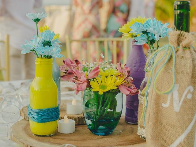 Decoración para boda hecha en casa. ¡Dejen su sello personal!