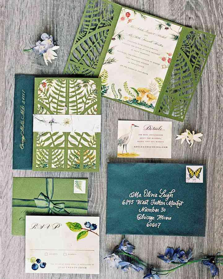 pack de papelería para boda