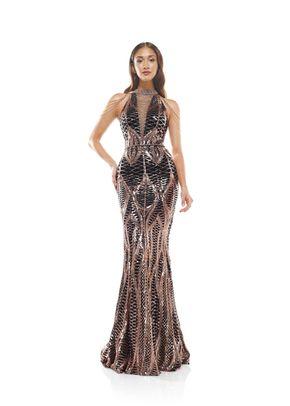2242BKORSGD, Colors Dress