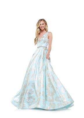 2258Aquagold, Colors Dress