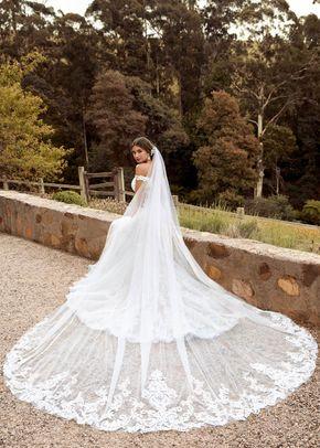 y22048 veil, Mon Cheri Bridals