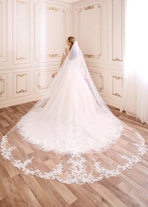 y22054 veil, Mon Cheri Bridals