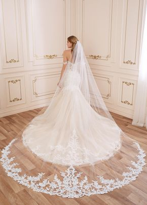 y22065 veil, Mon Cheri Bridals