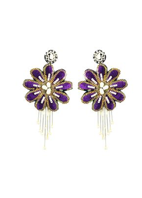 flor de perla violeta, Alejandra Valdivieso