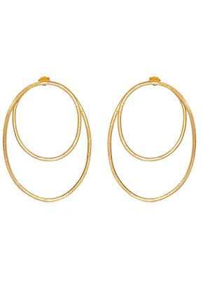 OVAL LARGE EARRINGS, Elisamaya