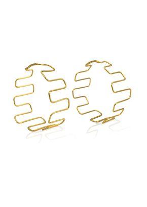 Mesay Hoops, Paula Mendoza Jewelry