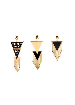 Three Musketeer Black , Paula Mendoza Jewelry