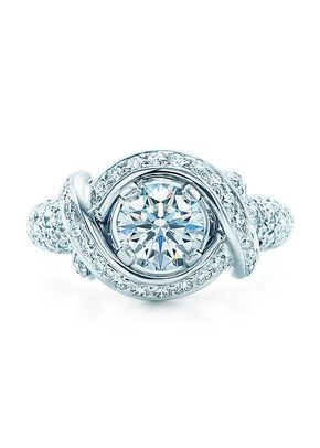 schlumberger engagement ring, Tiffany & Co.