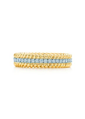 schlumbergerrope two row ring, Tiffany & Co.