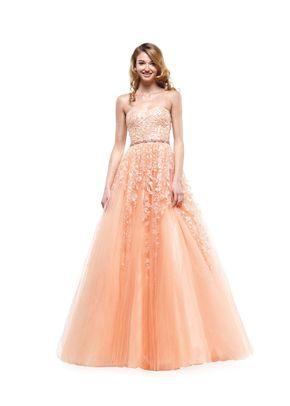 2154APRICOT, Colors Dress
