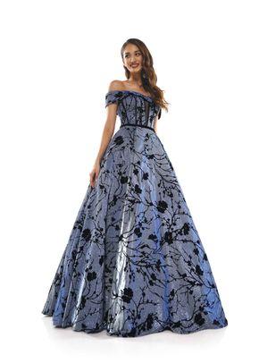 2256BLBK, Colors Dress
