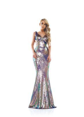 2298PKMUL, Colors Dress