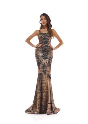 2338BKOCOPPER, Colors Dress