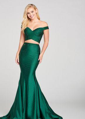 ew121002 emerald, Ellie Wilde by Mon Cheri