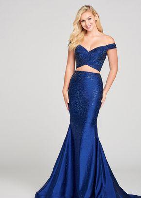 ew121002 navy BLUE, Ellie Wilde by Mon Cheri
