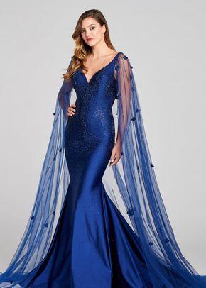 ew121007 navy blue, Ellie Wilde by Mon Cheri