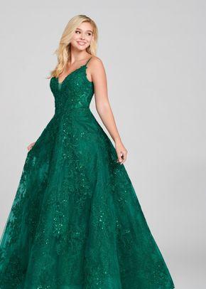 ew121010 emerald, Ellie Wilde by Mon Cheri