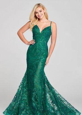 ew121011 emerald, Ellie Wilde by Mon Cheri
