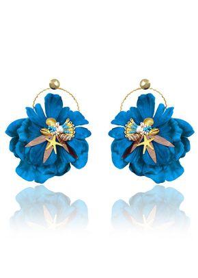 flor del mar azul, Adolfo Domínguez