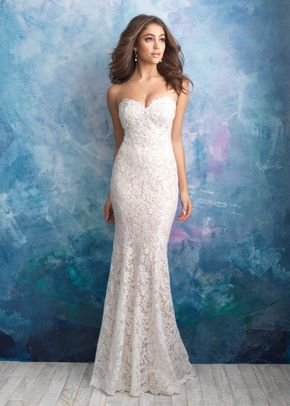 9566 , Allure Bridals