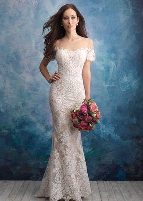 9569 , Allure Bridals