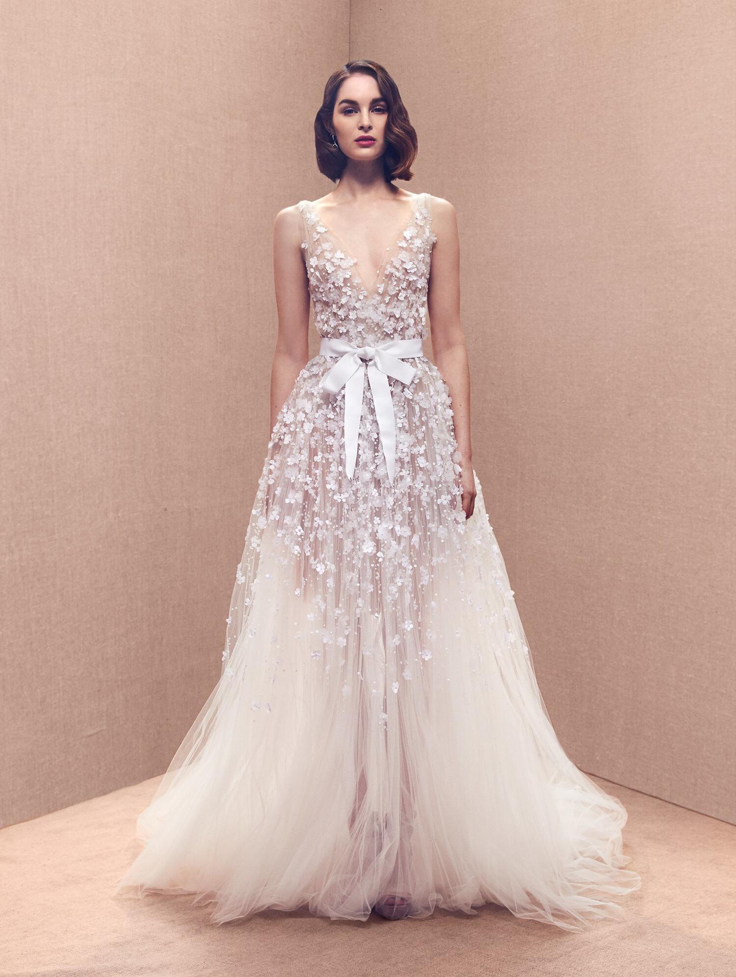 Vestidos de Novia de Oscar de la Renta - Matrimonio.com.co