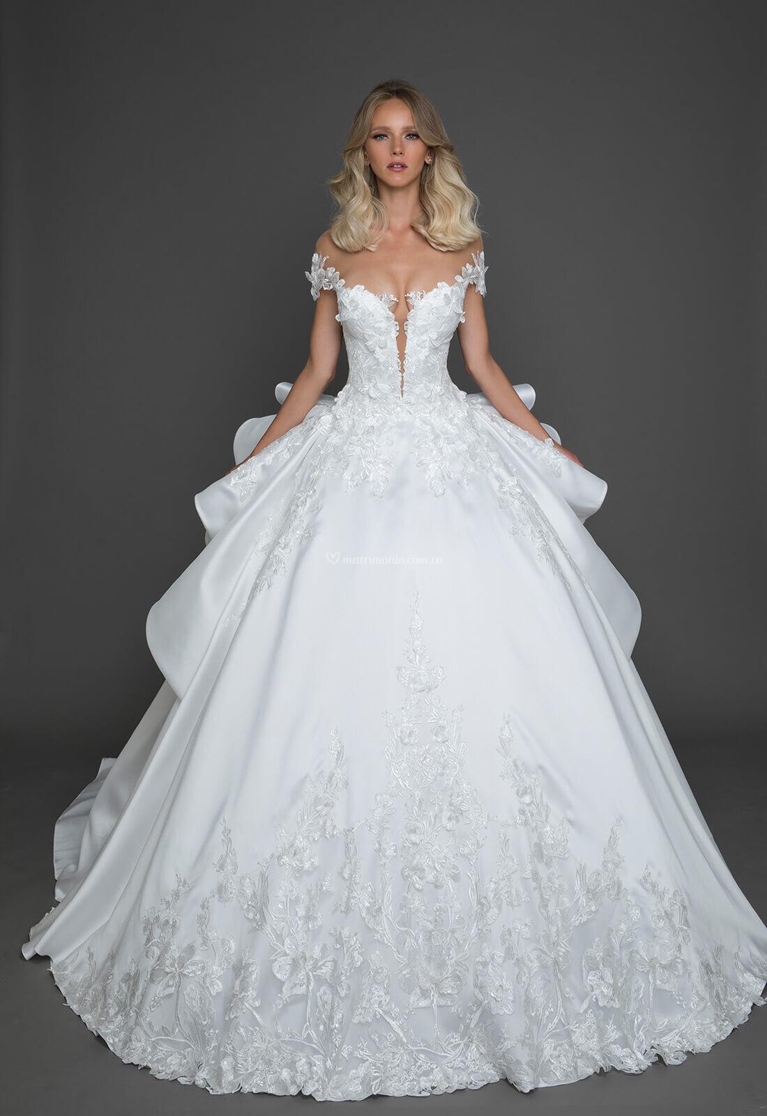 Imagenes de vestidos de novia pnina tornai