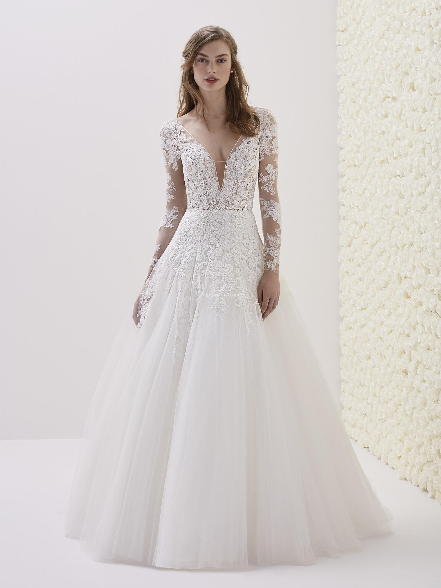 proporcionar un montón de volumen grande diseño de variedad Vestidos de Novia de Pronovias - 2019 - Matrimonio.com.co
