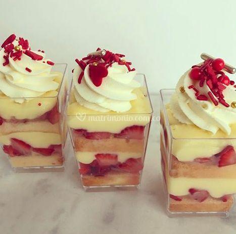 Trifle decorado
