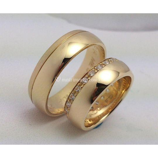 Anillos de matrimonio  oro A