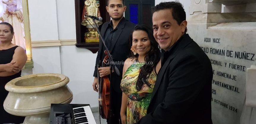 Soprano violín y piano