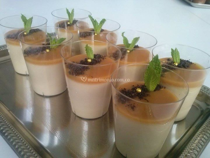 Pannacota Cafe-Caramelo