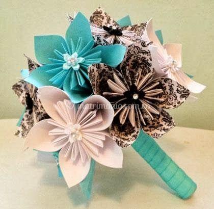 Origami piñas
