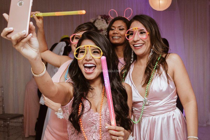 La alegría de la fiesta