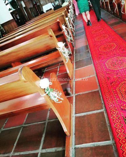 Sillas de la iglesia