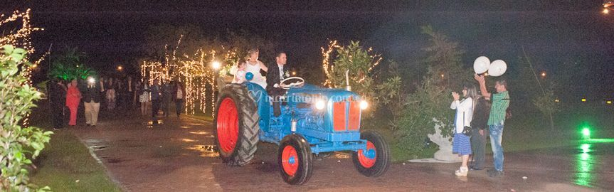 Tractor carroza fordson major
