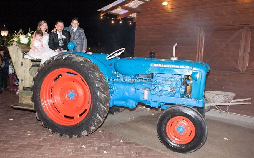 Tractor Forson major power