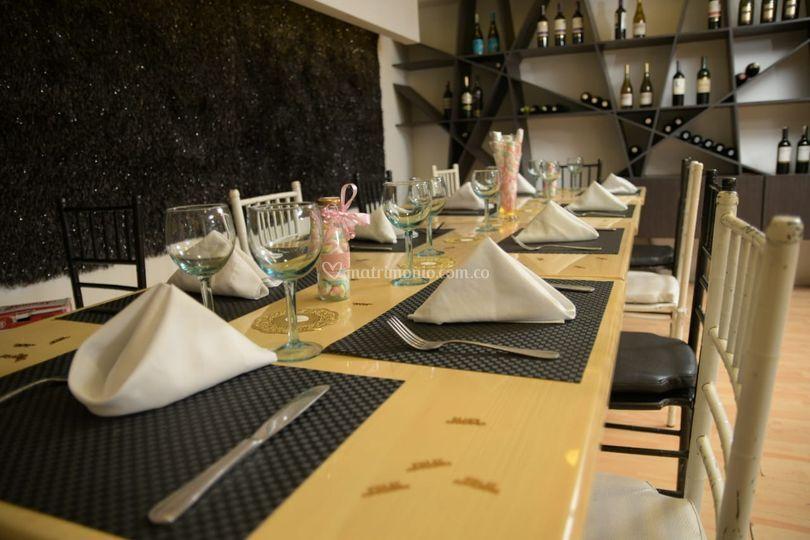 Mesa para cena