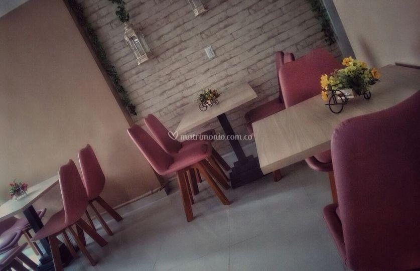 Salón rosa