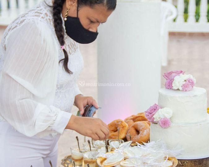 Wedding pastry
